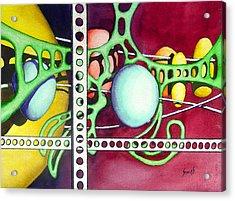Untitled - 051129 Acrylic Print by Sam Sidders
