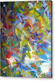 Untitled #1 Acrylic Print by Steven Miller
