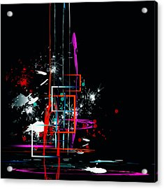 Acrylic Print featuring the digital art Untitled 42 by Andrew Penman