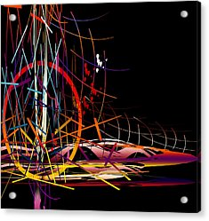 Acrylic Print featuring the digital art Untitled 58 by Andrew Penman