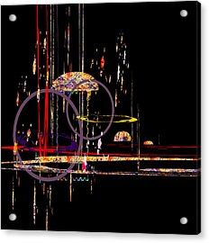 Acrylic Print featuring the digital art Untitled 68 by Andrew Penman