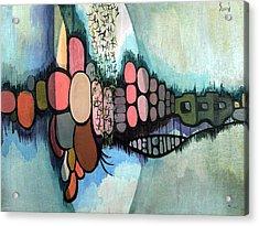 Untitled 720218 Acrylic Print by Sam Sidders