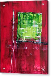 Untitled- Abstract  Acrylic Print by Ismeta Gruenwald