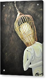 Untitled For The World To Figure Out Acrylic Print by Stefanie M Valverde