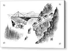 New Yorker January 3rd, 2005 Acrylic Print