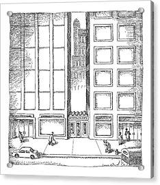 New Yorker December 12th, 2005 Acrylic Print