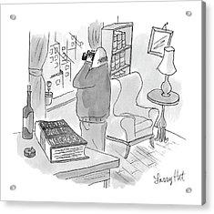 New Yorker July 3rd, 2006 Acrylic Print