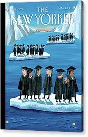 New Yorker May 28th, 2012 Acrylic Print