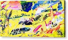 Untitled Number Twenty One Acrylic Print
