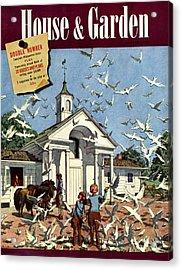 House & Garden August 1st, 1939 Acrylic Print