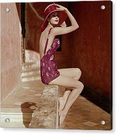 Vogue January 1st, 1959 Acrylic Print by Tom Palumbo