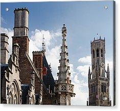 Unusual Brugge Acrylic Print