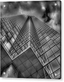 Up 3 Acrylic Print by Mark Alder