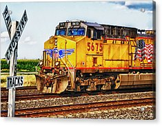 Acrylic Print featuring the photograph Up 5675 by Bill Kesler