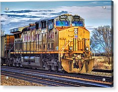 Acrylic Print featuring the photograph Up 6549 by Bill Kesler