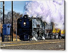 Acrylic Print featuring the photograph Up 844 Movin' On by Bill Kesler
