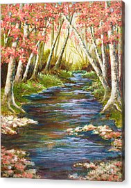 Up A Creek Acrylic Print