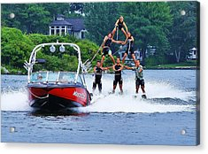 Acrylic Print featuring the photograph Up And Away... by Al Fritz