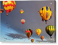 Acrylic Print featuring the photograph Up And Away by Dave Files