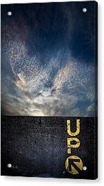 Up At Sunrise Acrylic Print by Bob Orsillo