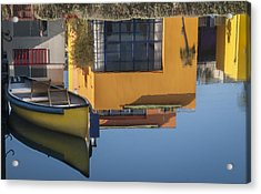 Acrylic Print featuring the photograph Up Down Venice by Kevin Bergen