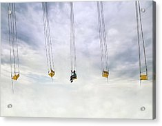 Up In The Air! Acrylic Print