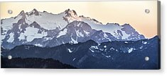 Up In The Mountains Acrylic Print by Jon Glaser