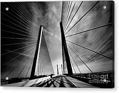 Acrylic Print featuring the photograph Up N Over by Robert McCubbin