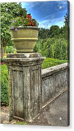 Up On A Pedestal  Acrylic Print by Honour Hall
