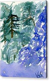 Up The Creek Acrylic Print