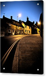 Acrylic Print featuring the photograph Up The Road by Stewart Scott