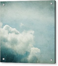 Up There Acrylic Print by Violet Gray