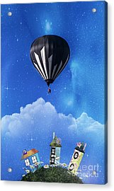 Up Through The Atmosphere Acrylic Print by Juli Scalzi