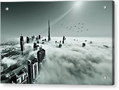 Up Up And Above Acrylic Print