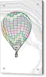 Up Up And Away - Sketch Acrylic Print