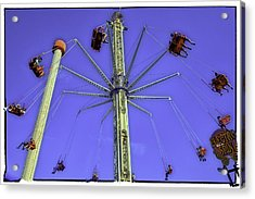 Up Up And Away 2013 - Coney Island - Brooklyn - New York Acrylic Print by Madeline Ellis
