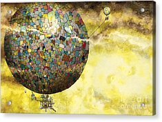 Up Up And Away Acrylic Print by Colin Thompson