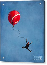 Up Up And Away Acrylic Print by Juli Scalzi