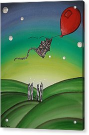 Up Up And Away Acrylic Print