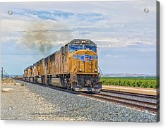 Acrylic Print featuring the photograph Up4421 by Jim Thompson