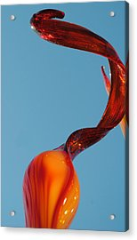 Updale 3 Cropped Acrylic Print by Jon Kerr