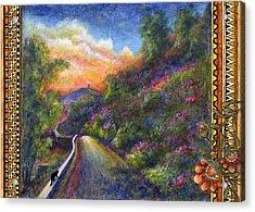 Uphill Acrylic Print