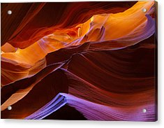 Upper Antelope Canyon Acrylic Print by Giovanni Allievi