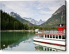 Acrylic Print featuring the photograph Upper Waterton Lakes by Teresa Zieba