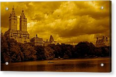Upper West Side And Central Park Acrylic Print