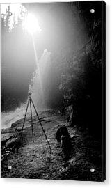 Upper Wolf River Falls Acrylic Print