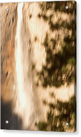 Upper Yosemite Fall In Yosemite Valley Acrylic Print