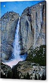 Upper Yosemite Falls Acrylic Print by Eric Tressler