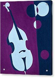 Upright Jazz Acrylic Print