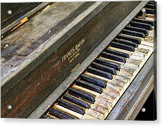 Upright Piano Acrylic Print